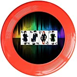 Red, One Size : Kim Lennon Now You Watching Me Custom Outdoor Plastic Sport Disc Colors And Styles Vary Yellow