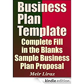 Business Plan Template - Complete Fill in the Blanks Sample Business ...
