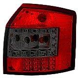LED R�ckleuchten Set Audi A4 BJ 00-04 (B6) Klarglas / Rot / Schwarz
