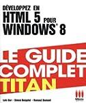 D�veloppez en HTML 5 pour Windows 8