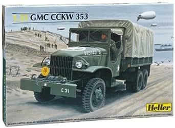 Amazon.com: Heller Camion G.M.C. Car Model Building Kit: Toys & Games