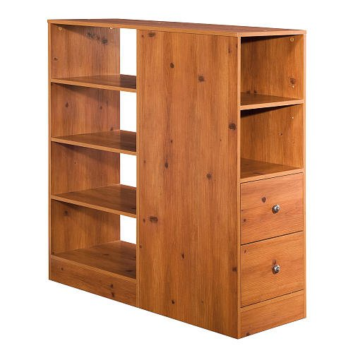 South Shore Logik Combo Storage Unit Sunny Pine front-856123
