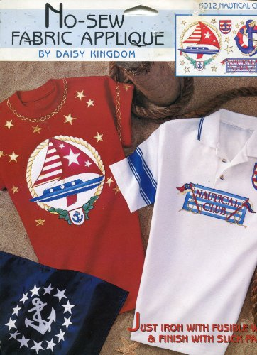 NAUTICAL CLUB - NO-SEW FABRIC APPLIQUE KIT FROM DAISY KINGDOM #6912
