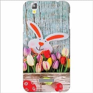 Yureka Plus Back Cover - Silicon Rabbit Designer Cases