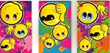 Title: Mini Smiley Face Notebooks / Notepads - Assorted Designs (1 Supplied)