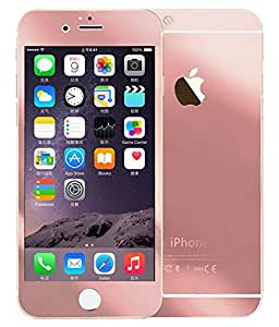 Nukkds Rose Gold Front & Back Tempered Glass for Apple iPhone 6