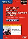 Concours Rédacteur et Rédacteur principal territorial - Tout-en-un - Catégorie B - Concours 2015