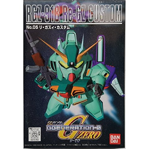 SD 05 G Generation-0 Re-GZ Custom Gundam Model Kit BB Bandai - 1