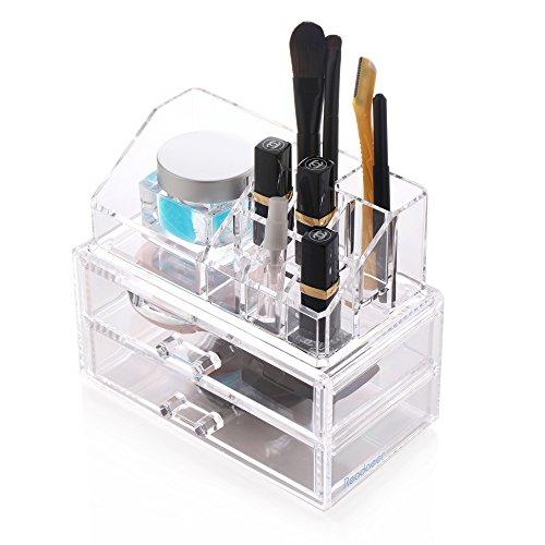 Readaeer Clear Acrylic Makeup Cosmetic Organizer Storage