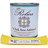 Relica - Chalk Paint Additive With Quart Can and pouring spout for Mixing - 1 lb to mix with 1 Gallon of the paint of your choice. (Additive Kit) - Non Toxic