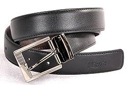 Nerita Men Reversible Belt(Art_Leather_Black&Brown_505)