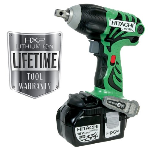 Hitachi WR18DL 18-volt Lithium-Ion Cordless Impact Wrench