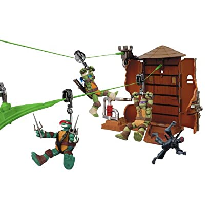 Teenage Mutant Ninja Turtles Z-Line Water Tower Washout Deluxe Playset