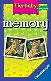 Ravensburger 23013 - Tierbaby Memory - Mitbringspiel von Ravensburger