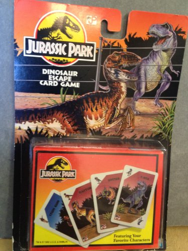 Jurassic Park Dinosaur Escape Card Game