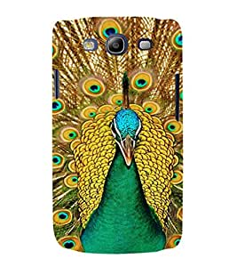 EPICCASE Breath taking peacock Mobile Back Case Cover For Samsung Galaxy S3 Neo (Designer Case)
