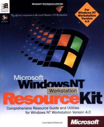 Microsoft® Windows NT® Workstation 4.0 Resource Kit (Windows Nt Resource Kit compare prices)