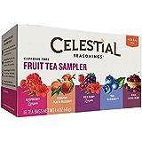 Celestial Seasonings - Herbal Fruit Tea Sampler Caffeine Free - 18 Tea Bags