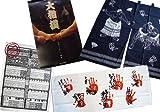 【相撲グッズ】平成26年大相撲カレンダー 大相撲のれん・3月場所番付表 手形フェイスタオル Sumo Goods Face Towel (handprint of a sumo wrestler), Japanese shop curtain Noren, Banzuke
