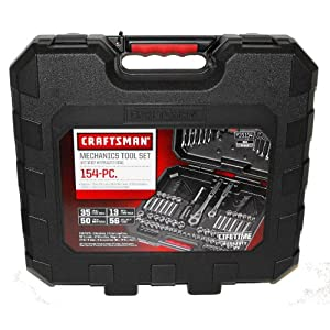 Buy price Craftsman 154 pc Mechanics Tool Set # 35154 Best Buy For Usa