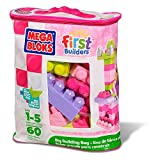 Mega Bloks First Builders Big Building Bag - Pink