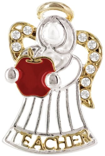 Angel for Teacher Wings & Wishes Angel Tac Pin