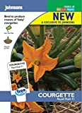 Johnsons Seeds - Pictorial Pack - Vegetable - Courgette Royal Flush F1 - 10 Seeds