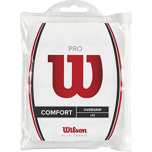 Wilson Overgrip Pro 12er, Weiß, 0076260154800000
