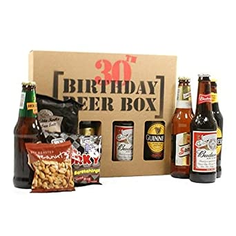 GIFTS2THEDOOR 30Th Birthday Beer Box