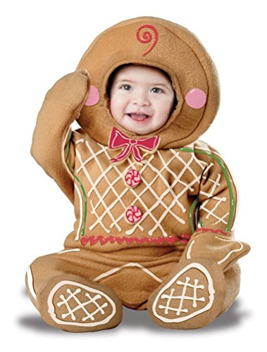 POPLife Christmas Gingerbread Man Cookie Infant Baby Costume