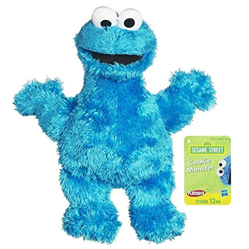 Sesame Street Plush Cookie Monster, 9 Inch - 1