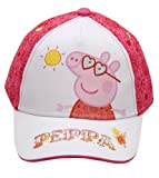 Girls Peppa Pig (sunglasses) Baseball Cap Hat Kids Childrens