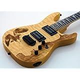 New Custom Shop Quilt Top Korina Eagle Electric Guitar