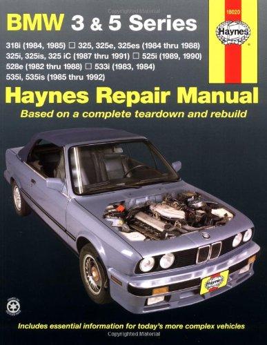 BMW 3 and 5 Series 1982-1992 (Haynes Manuals)
