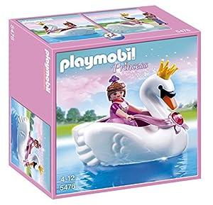 Playmobil - 5476 - Figurine - Princesse Avec Bateau De Cygne