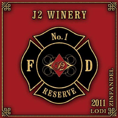 2011 J2W Fire Fighters Lodi Gill Creek Ranch Old Vine Zinfandel 750 Ml