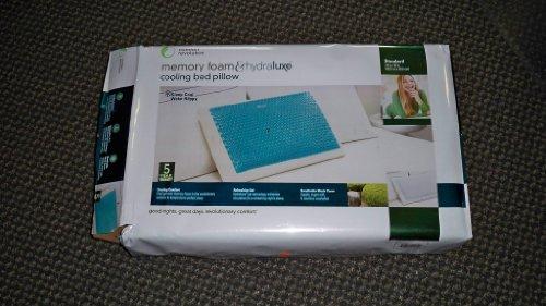 Comfort Revolution Hydraluxe Gel Memory Foam Cooling Bed Pillow