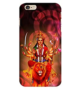 Bhavaani 3D Hard Polycarbonate Designer Back Case Cover for Apple iPhone 6S