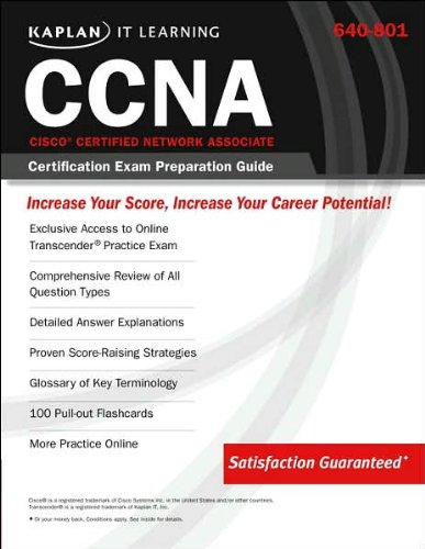 640-801 Cisco Certified Network Associate (CCNA) Certification Exam Preperation Guide (Kaplan IT Learning)
