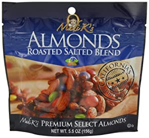 Madi K's Roasted Almond Blend, 5.5-Ounce Pouches (Pack of 12) from Madi K's