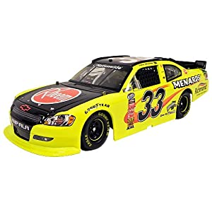 #33 Paul Menard Rheem 1/24 Diecast Car 2011 Chevy Impala Nationwide Series Action Platinum Series N331821mnpm