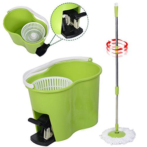 masterpanel-microfiber-spinning-mop-easy-floor-mop-w-bucket-2-heads-360-rotating-head-green-tp3336