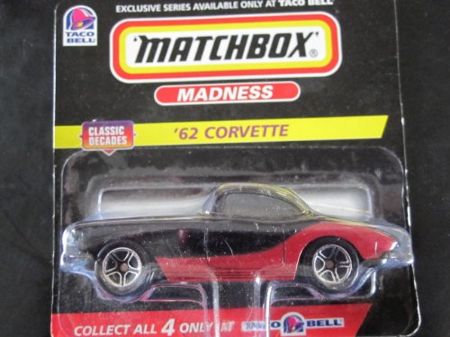 62 Corvette Matchbox Taco Bell Exclusive die-cast vehicle - 1