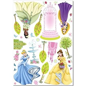 New Art Disney Princess Big Wall Decals