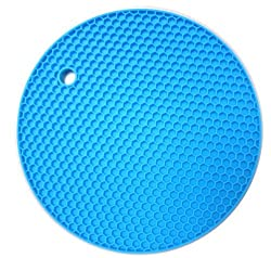 Multi-purpose Little Silicone Heat Resistant Pot Holder Mat Trivet Honeycomb Mat