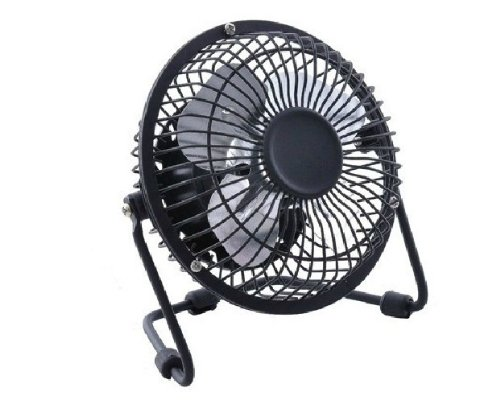 Portable USB Mini Cooler Cooling Desk Fan for Pc Laptop Notebook Desktop Black