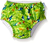i play. Baby Snap Reusable Absorbent Swim Diaper, Lime Toucan, 12 Months Size: 12 Months Color: Lime Toucan, Model: 721, Newborn & Baby Supply