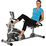 "Home High Capacity Magnetic Recumbent Bike w/ Pulse, ""Step Thru"" design"