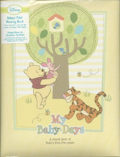 Disney Winnie the Pooh Baby First Memory Book Baby's First 5 years - 1