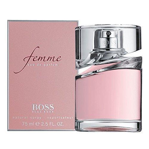 H.U.G.O . B.O.S.S Femme 2.5 Oz Eau De Parfum Spray For women Plus Free Gift